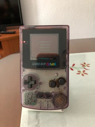 Game boy color mas 1 juego de rally