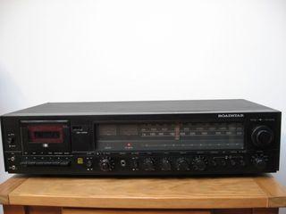 Amplificador Receptor con casette Vintage