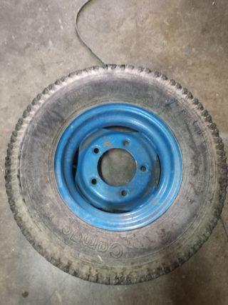 rueda remolque agrícola