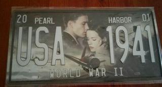 Matrícula de película Pearl Harbor