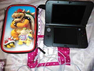 Nintendo 3ds xl con 2 juegos sin caja