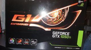 Tarjeta gráfica Gigabyte 1050 Ti OC Gaming g1