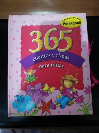 365 cuentos y rimas para niñas.