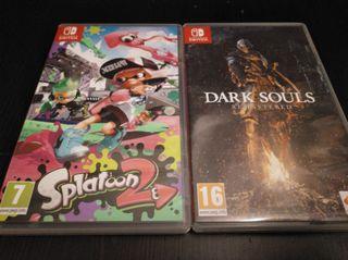 2 Juegos de Nintendo Switch