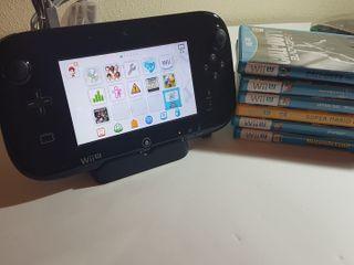 Nintendo Wii U con 8 juegos