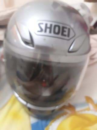 Casco hombre marca Shoei color gris talla M