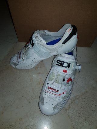 Zapatillas Sidi Ergo 2 blanco brillo talla 42