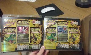 Pokemon JCC Dragon Vault Box Latias / Drudigon
