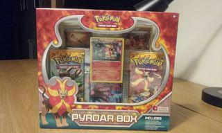 Pokemon JCC Pyroar Box