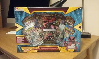 Pokemon JCC Krokodile EX Box