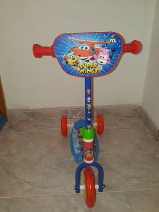 patinete para niños de 3años sin uso