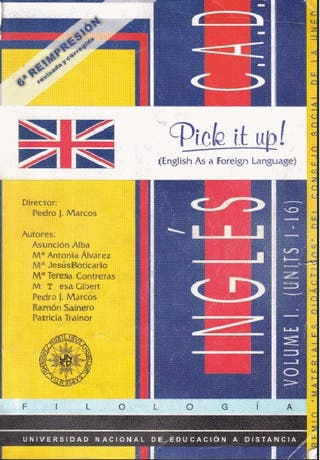 Inglés - Pick it up (2 volúmenes)