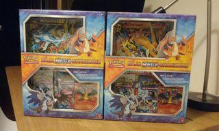 Pokemon JCC Box Mega Charizard X e Y
