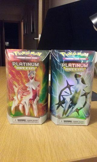 Pokemon JCC Platinum Fire & Lightinh Arceus