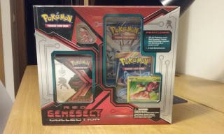 Pokemon JCC Red Genesect Collection Box