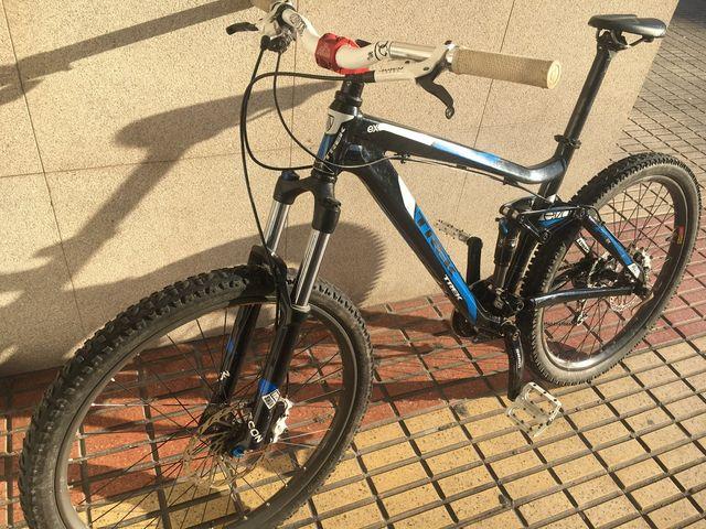 Bicicleta trek doble suspensión