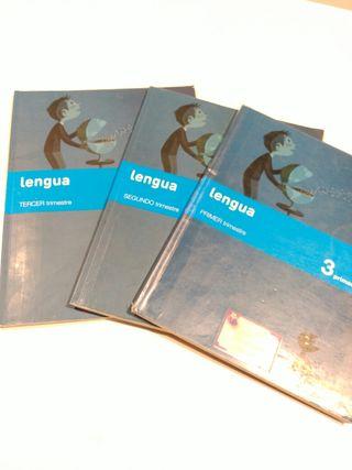 Libro de texto Lengua 3 primaria SM