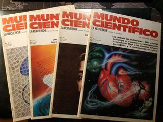 Mundo Científico (La Recherche) lot 1982