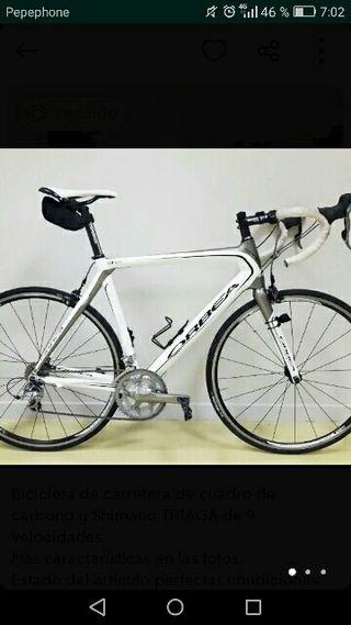 Bicicleta carretera de carbono. Orbea onix