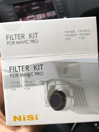 kit Filtros para DJI Mavic Pro (nuevos)