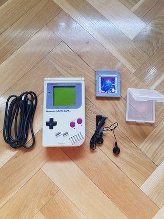 GameBoy (GB) original + accesorios + juego