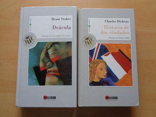 Libro Drácula y Historia de dos ciudades