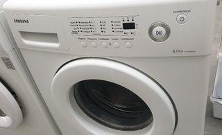 Lavadora Samsung 6 kilos, 1200 rpm