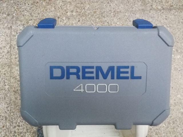 Multiherramienta Dremel 4000 Eje Flexible De Segunda Mano