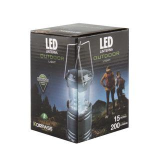 linterna led camping