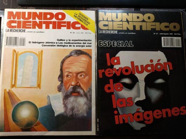 Mundo Científico (La Recherche) lot 1983