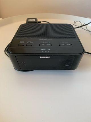Reloj alarma despertado Philips