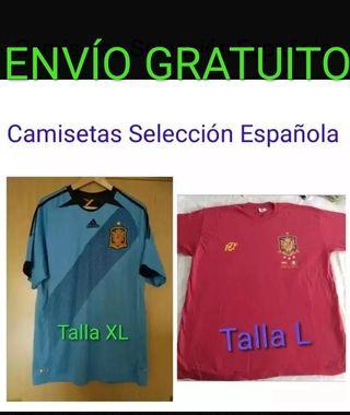 Envio Gratis, 2 Camiseta Selección Española XL-L
