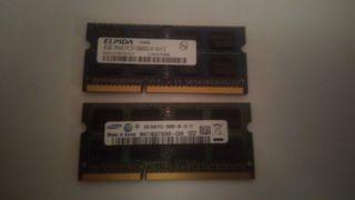 8gb (2x4) memoria ram DDR3 portatil