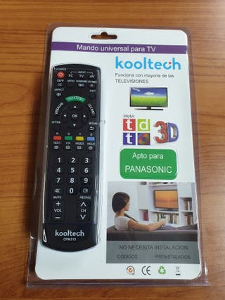 Mando de tv compatible con Panasonic