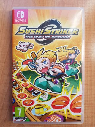 Juego Sushi Striker Switch