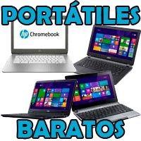 Portátiles baratos lowcost ordenadores