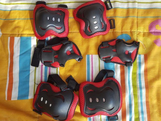 Protecciones skate niñ@ sin estrenar.