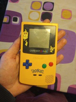 GameBoy Color Edición Limitada Pokemon