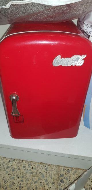 mini nevera vintage coca cola