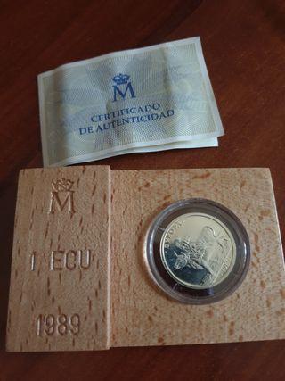 moneda de colección 1 ECU