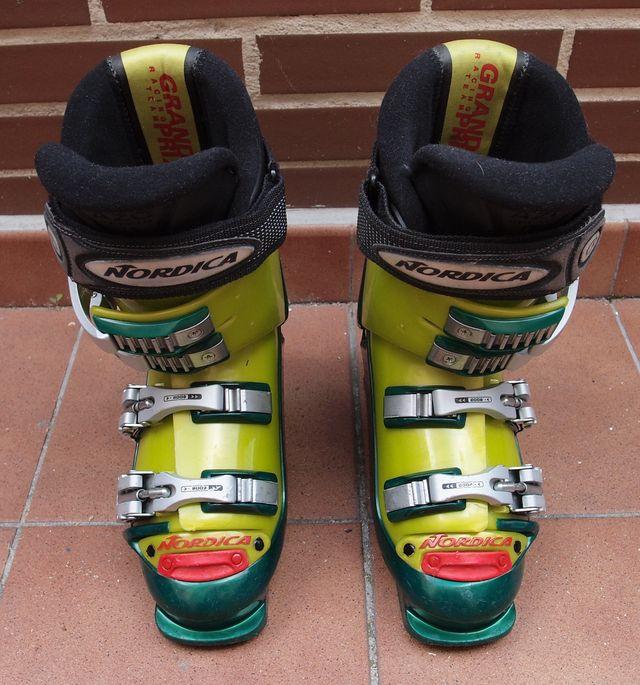 Botas Ski Nordica Grand Prix Junior 23.0/23.5