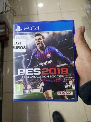 JUEGO PES 4 2019 PLAYSTATION