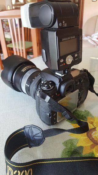 cámara de fotos Nikon d 300