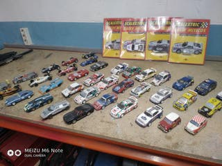 lote 38 coches scalextric.coleccion altaya