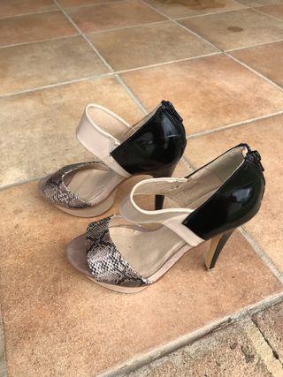 Zapatos tacón talla 37