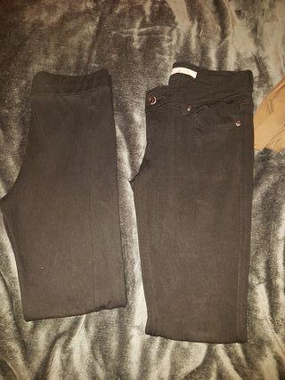 set leggins negros