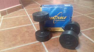 juego pesas vinilo de 2kg
