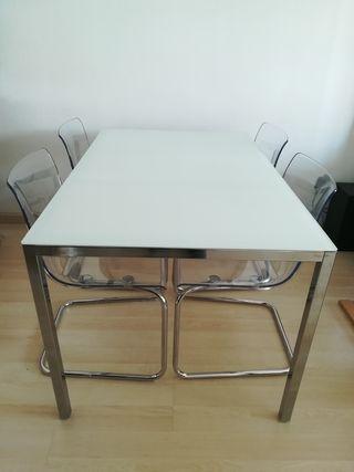 comedor mesa + 4 sillas