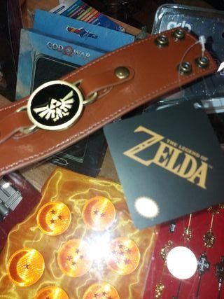 Pulsera Cuero The Legend of Zelda