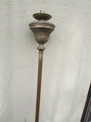 Cirial candelabro procesional siglo XIX 2 metros
